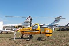 Small aircraft Stock Photo