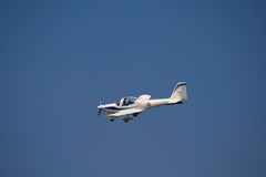 Small aircraft. A recent visit to an aircraft show in London UK royalty free stock photo