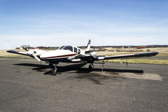 Small aircraft - Cessna 310R royalty free stock photos