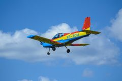 Small aircraft royalty free stock photography
