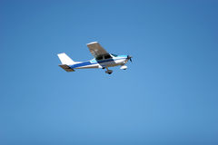 Small airplane flying Royalty Free Stock Image