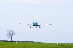 Small airplane flying Royalty Free Stock Images