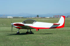Small Airplane (side View) Stock Images