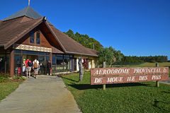 Small Airport of Ile Des Pins Island, New Caledonia Stock Photo