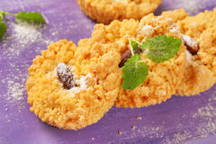 Small almond cookies Stock Image