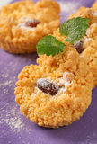 Small almond cookies Stock Photography