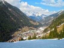 Small alpine village. Stock Photos