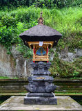 A small altar at the Hindu temple in Bali, Indonesia Stock Photos