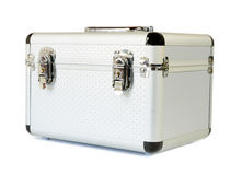 Small aluminum case Royalty Free Stock Photography