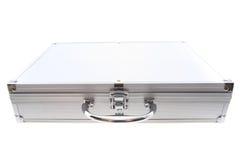 Small aluminum suitcase Stock Image