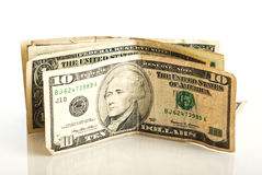 Small amount of American money Stock Photography