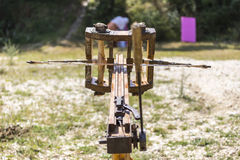 Small ancient ballista Stock Image