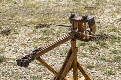 Small ancient ballista stock photos