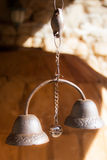 Small ancient bells Royalty Free Stock Images