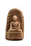 Small ancient buddha image use as amulet Royalty Free Stock Photos
