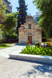 Small Ancient Orthodox church, Athens Stock Images