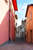 Small ancient town Cigillo Stock Image