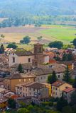 Small ancient town Cigillo Royalty Free Stock Photo