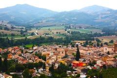 Small ancient town Cigillo Stock Photos