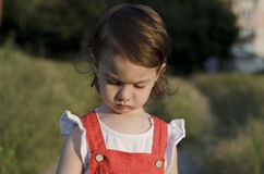 Small angel beauty Royalty Free Stock Image