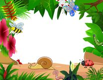 Small animal cartoon. Illustration of small animal cartoon Stock Photos