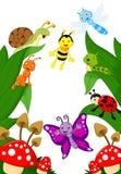 Small animals cartoon Stock Photo