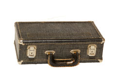Small antique case on white Royalty Free Stock Photos