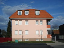 Small Apartment Building Royalty Free Stock Photography