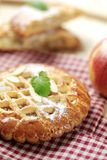 Small apple pie Royalty Free Stock Photography