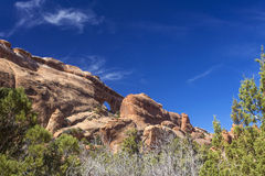 Small arch; Arches National Park Royalty Free Stock Photography