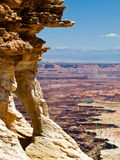 Small Arch Over Buck Canyon, Canyonlands NP, Utah Stock Photos