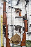 Small arms of the Second World War Royalty Free Stock Images