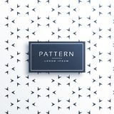 Small arrow direction pattern background Stock Images