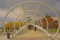 Small Artistic Bridge Stock Photos