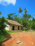 Small asian typical house, Sri lanka Royalty Free Stock Photos