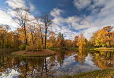 Small Autumn Island Stock Images