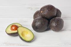 Small Avocados Persea Americana Stock Photos