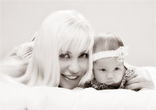 A small baby Royalty Free Stock Photos