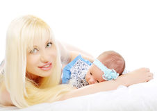 A small baby Royalty Free Stock Photo