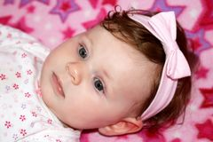 Small baby Royalty Free Stock Photography