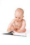 Small baby boy Stock Photos