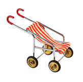Small baby carriage for seating isolated Stock Photo