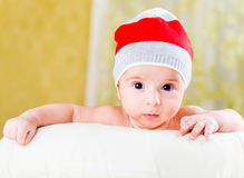 Small baby in childhood concept Stock Images