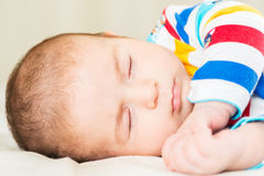 Small baby in childhood concept Royalty Free Stock Image