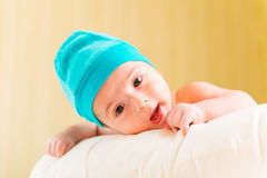 Small baby in childhood concept Stock Photo