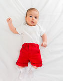 Small baby in childhood concept Royalty Free Stock Images