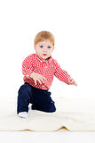 Small baby. Royalty Free Stock Photos