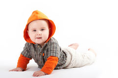Small baby posing Royalty Free Stock Photography