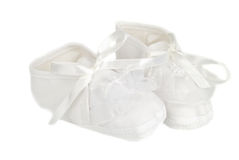 Small baby shoes Royalty Free Stock Photos