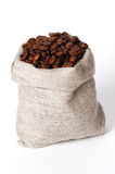 Small bag of coffee Royalty Free Stock Photos